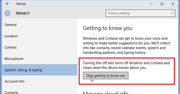 Disable Windows 10 Keylogger figure 2